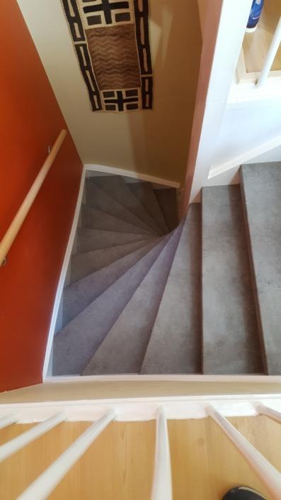 Treppe Vorher Nachher