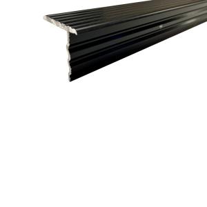 schwarzes ALU-T-Profil