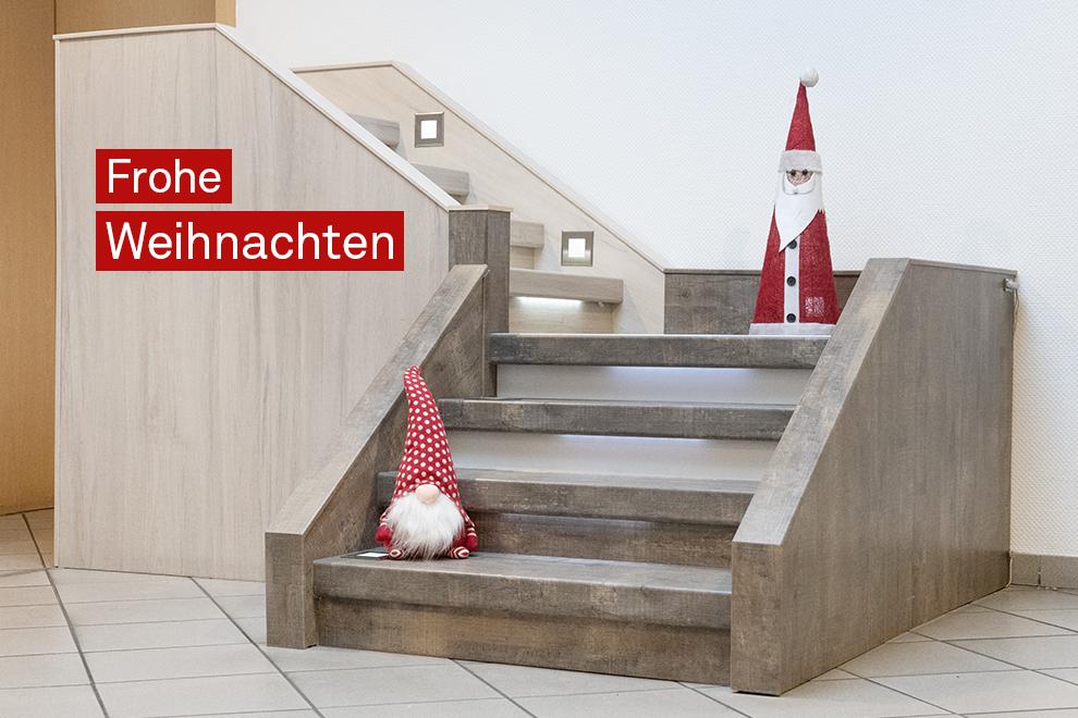 Fedi Weihnachten Treppe renovieren